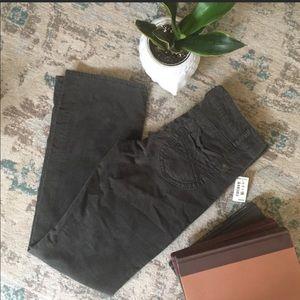 4/$20 SALE Aeropostale Gray BootCut Corduroy Pants